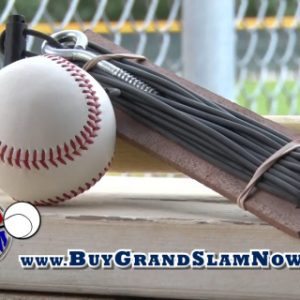grand slam baseball retrieval system, little league t ball softball baseball hardball baseball training aids baseball hitting devices